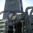 A creative bulding at yokohama by sivagurun
