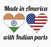 Made In America With Indian Parts One Piece - Long Sleeve