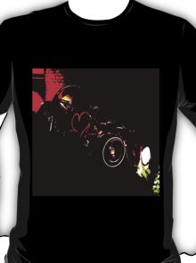 Instead of Scrapyard Heaven ~ 'Time' ~ black and red T-Shirt