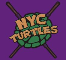 New York City Turtles - Donnie by goldenote