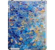 HYPNOTIC BLUE SUNSET - Simply Beautiful Royal Blue Navy Turquoise Aqua Sunrise Abstract Nature Decor iPad Case/Skin
