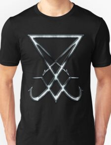 THE SIGIL OF LUCIFER - dirty chrome Unisex T-Shirt
