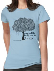 sing softly Womens Fitted T-Shirt