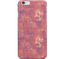 Antique Butterflies on Purple and Pink iPhone Case/Skin