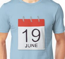 June 19 Unisex T-Shirt
