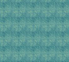 Yellow Micro Dots on Grunge Blue by pjwuebker