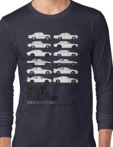 Nissan Skyline History Long Sleeve T-Shirt