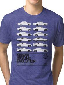 Nissan Skyline History Tri-blend T-Shirt