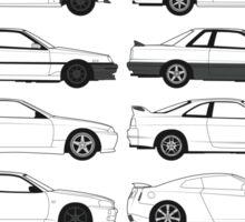 Nissan Skyline History Sticker