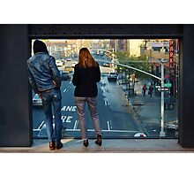 Watching the World: the High Line Photographic Print