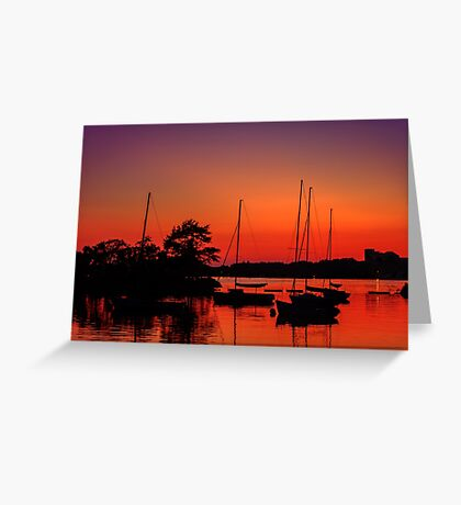 Sailors' delight Greeting Card