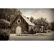 West Hill Chapel Photographic Print