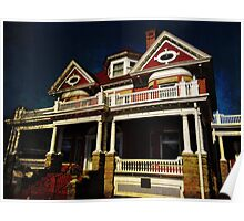 Historic home 2 Poster