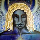 Archangel Michael - Original Painting by Maradiop