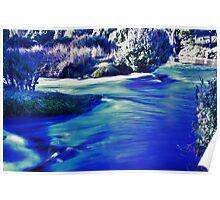 The creamy waters of Dove Lake in winter, Tasmania Australia Poster