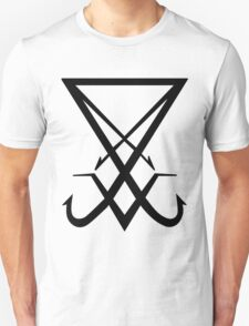 THE SIGIL OF LUCIFER - solid black T-Shirt