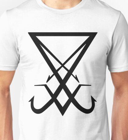 THE SIGIL OF LUCIFER - solid black Unisex T-Shirt