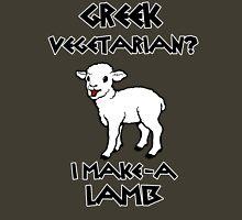 Greek Vegetarian? Unisex T-Shirt