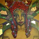 Esmerelda Nature Spirit - Original Painting by Maradiop