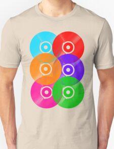 Vinyl Colors - Record Colours Rainbow DJ T-Shirt
