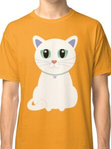 Only One White Kitty Classic T-Shirt