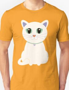 Only One White Kitty T-Shirt