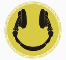 DJ Smiley Platter - Smile Happy One Piece - Short Sleeve