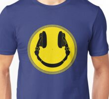 DJ Smiley Platter - Smile Happy Unisex T-Shirt