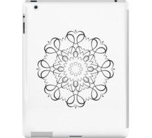 Blackwork Hearts ipad case iPad Case/Skin
