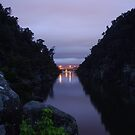 Pre dawn at Cataract Gorge, Launceston Tasmania  by spyke