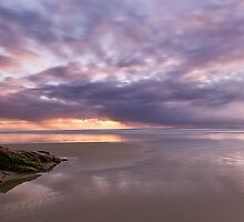 A colourful sunrise by Aamie