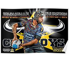 Johnathan Thurston Poster