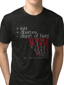 aperture + or - Tri-blend T-Shirt