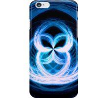 Blue effect case 1 iPhone Case/Skin
