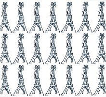 Eiffel Bow Tower by LisaCarboni