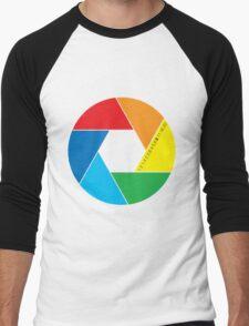 colorful aperture Men's Baseball ¾ T-Shirt
