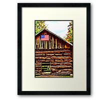 Pioneer Village Framed Print