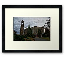 HDR Monestry Framed Print