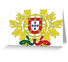 Coat of Arms of Portugal Greeting Card