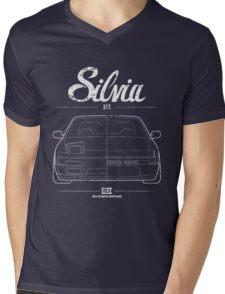 Silvia S13|180SX Mens V-Neck T-Shirt