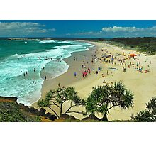 Nippers Training Photographic Print