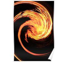 Swirling Inferno Poster