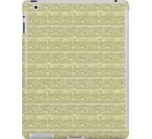Vintage Music iPad Case/Skin