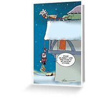 Christmas brake Greeting Card