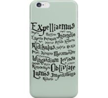 Harry Potter Magic Spells iPhone Case/Skin