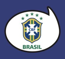 Brazil Soccer / Football Fan Shirt / Sticker by funaticsport