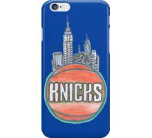 KNICKS hand-drawing iPhone Case/Skin