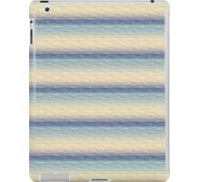 Soft Blue Sand Dunes Abstract iPad Case/Skin