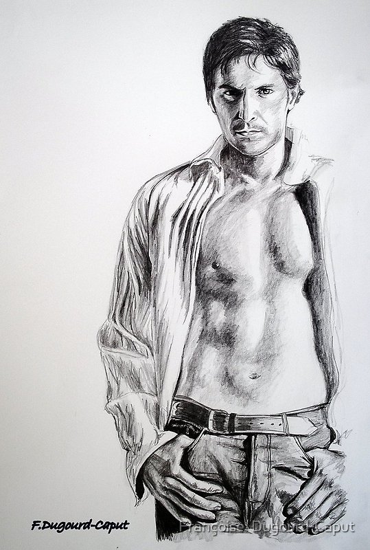 Richard , featured in Pencils Group, Virtual Museum, GroupGalleryArt&Photography, Painters Universe by Françoise  Dugourd-Caput