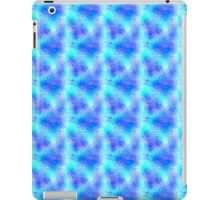 Soft Blue Patterned Glass iPad Case/Skin